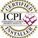 ICPI Concrete Paver Installer Certification Expires 12/31/2015